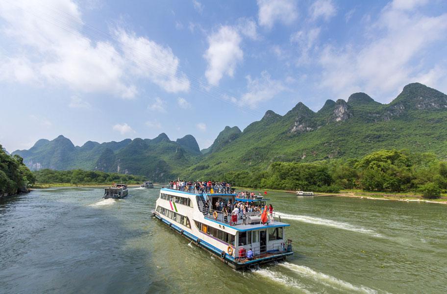 Guilin Schifffahrt für Touristen