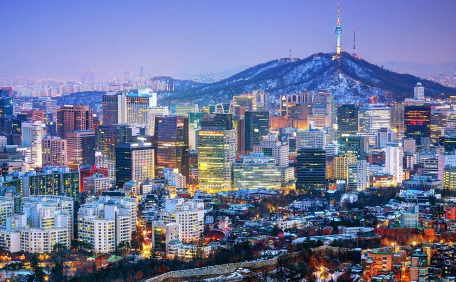 Korea Reisen Seoul Flüge ab Zürich